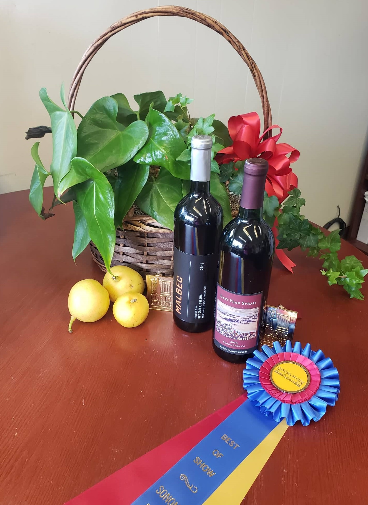Best of Class and Best of Show, 2021 Amateur Wine Competition